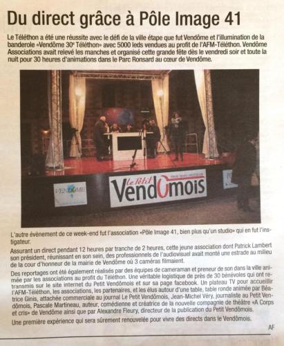 Le Petit Vendomois – Décembre 2016 – n°332